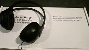 Damián Miroli - Restrospectiva (relatos sobre Instalación de luces artificiales en campo de luciernagas del año 2002) - 2009