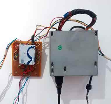 Escena con 3 escanimaciones controladas por Arduino