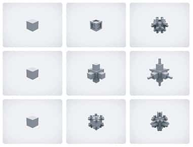 Damián Miroli - Cubo, animación interactiva - 2005
