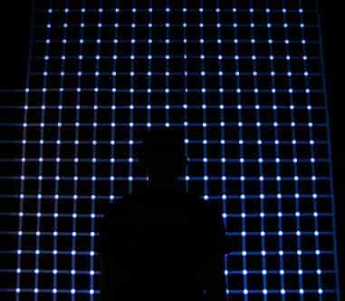 Damián Miroli - Grilla centelleante de la muestra Patterns - 2012